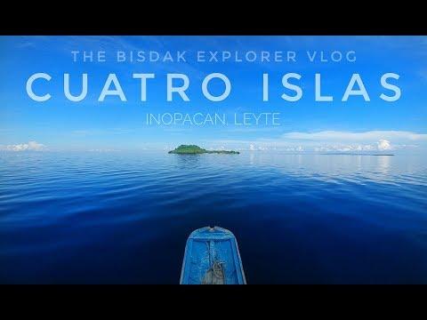 The Islets of Cuatro Islas in Leyte