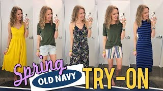 Affordable Old Navy Try On Spring 2019 | LipglossLeslie