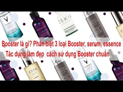 Booster là gì? Phân biệt 3 loại Booster, serum, essence Tác dụng làm đẹp  cách sử dụng Booster chuẩn