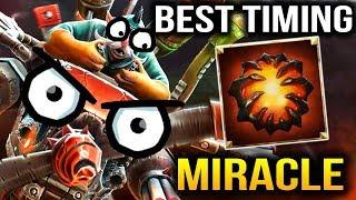 Miracle BEST AEGIS TIMING EVER 4Head vs SF Beast Dota 2 7.11