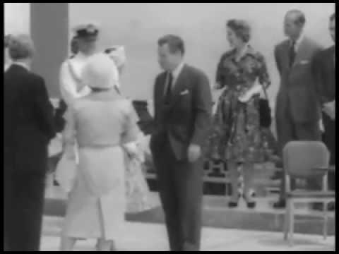 Dedication ceremony of St. Lawrence Seaway, 1959