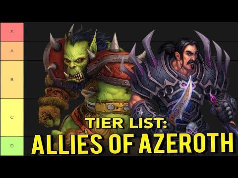My World Of Warcraft Tier List: Races Of The Alliance & Horde