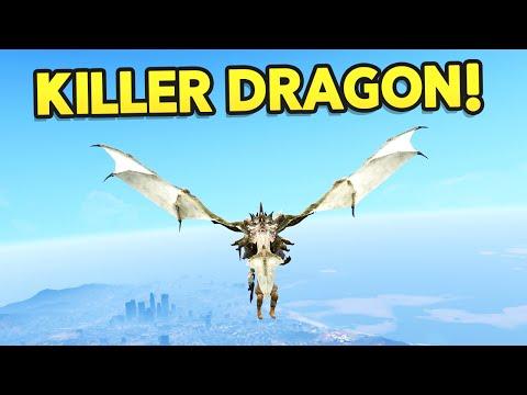 GTA 5 Mods : ULTIMATE DRAGON MOD!