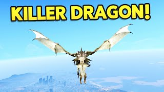 GTA 5 Mods : ULTIMATE DRAGON MOD!