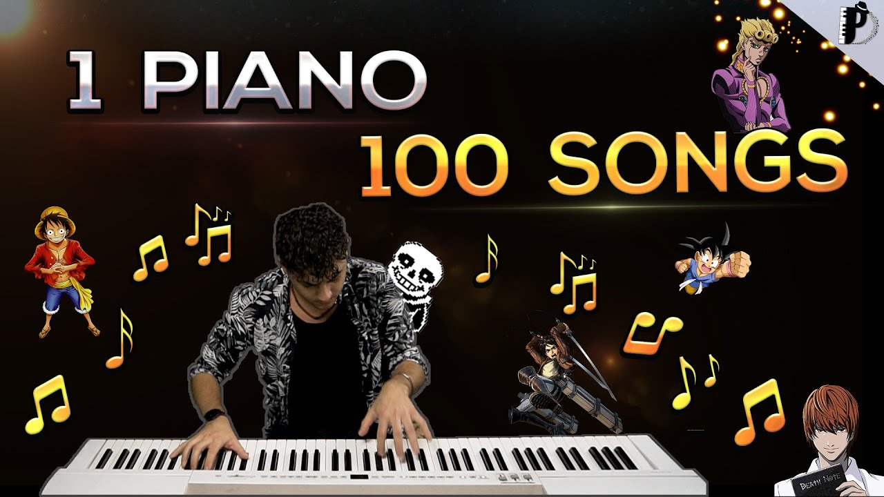 Download 1 PIANO 100 SONGS  (Special 100.000 )