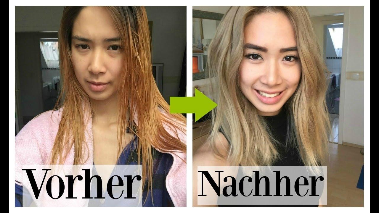 Von Blond Zu Aschblond Meine Neuen Haare