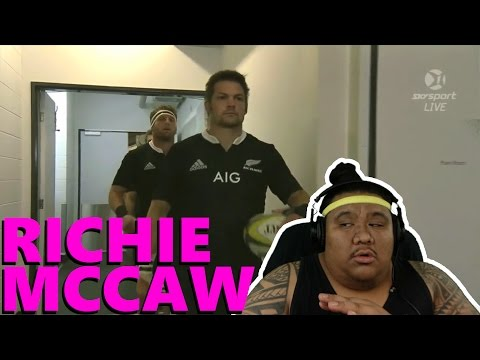 [REACTION] Richie McCaw - The Mighty All Black