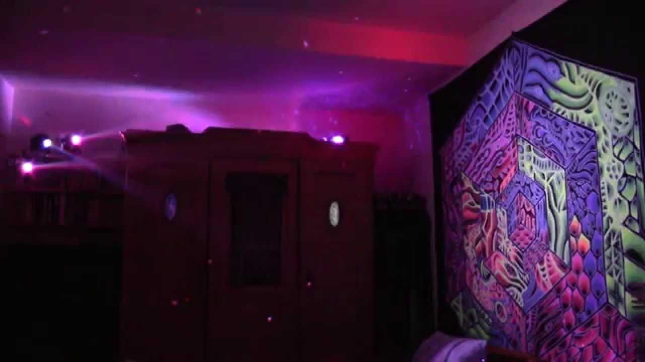 goa deko und etwas licht schlafzimmer mal anders youtube
