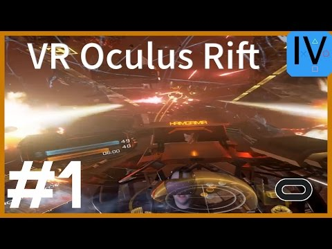 Let's Play VR Eve: Valkyrie #1 Oculus Rift Gameplay German D