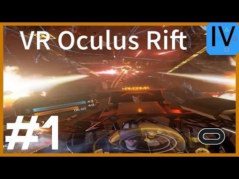Let's Play VR Eve: Valkyrie #1 Oculus Rift Gameplay German Deutsch