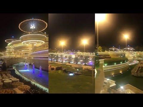 افتتاح قصر رجل الأعمال عبدالله العثيم - YouTube