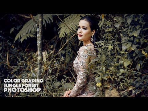 Photoshop Tutorial Fahion Editing In the Jungle | MOOD COLOR thumbnail