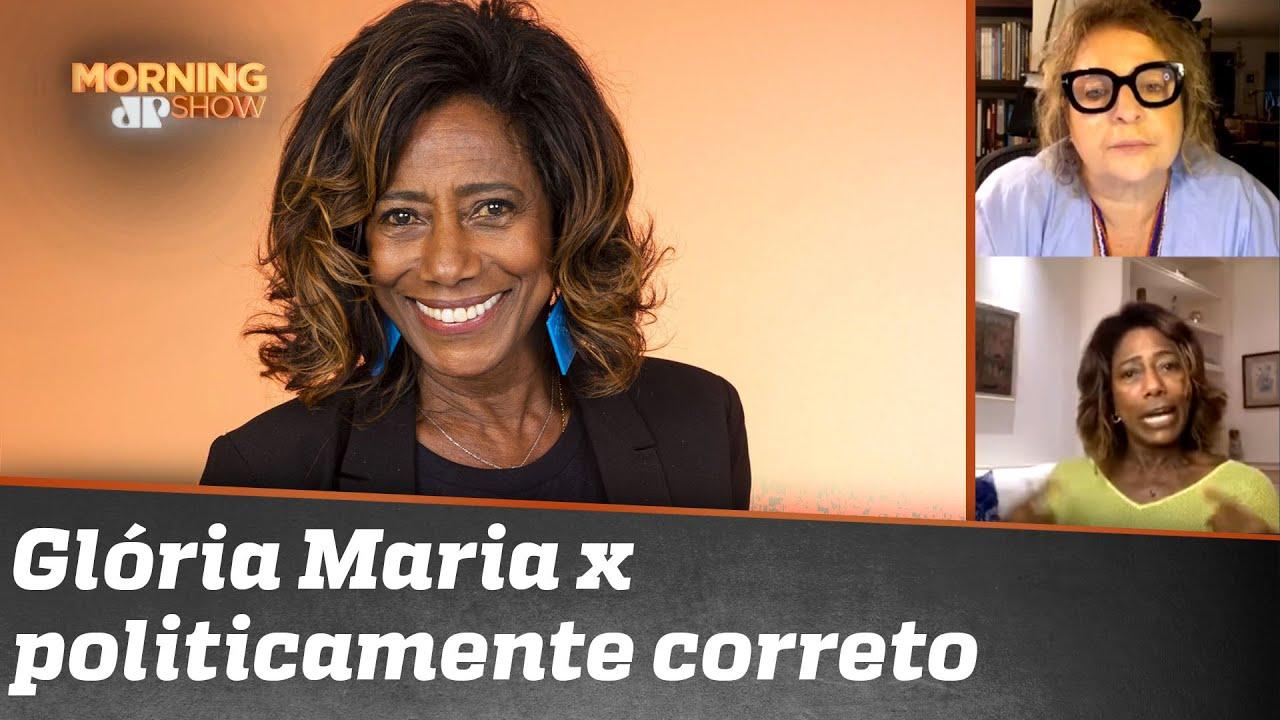 """Glória Maria detona politicamente correto: """"Hoje tudo é racismo, preconceito, assédio. Tá chato!"""""""