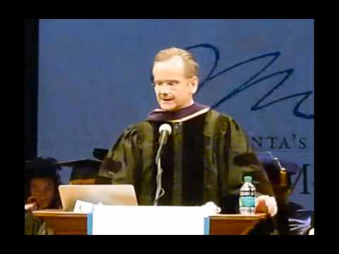 Graduation speech at Atlanta's John Marshall Law School