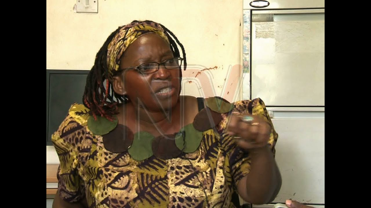 Dr. Stella Nyanzis naked protest exhibition on - Matooke