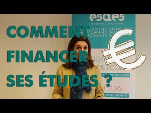 Comment financer mes études ? #ESDES