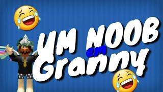 UM NOOB EM GRANNY - ROBLOX