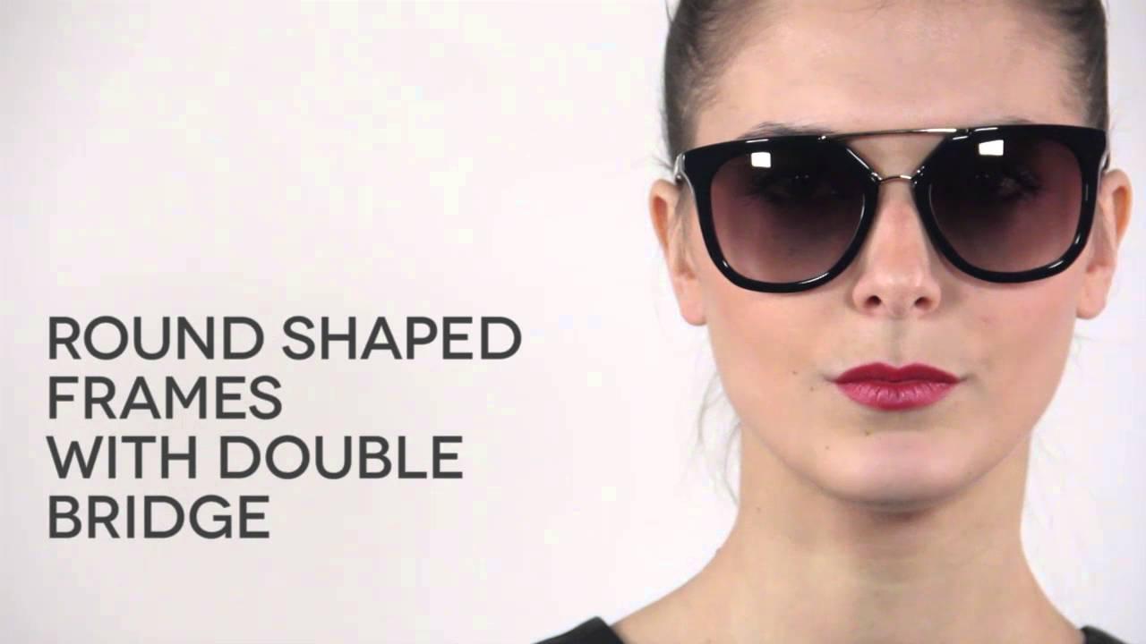 ff9e7dff4b64 Prada PR13QS Cinema Sunglasses Review   VisionDirectAU - YouTube