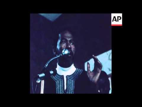SYND 18 6 78 SOWETO CHURCH SERVICE ADDRESSED BY BLACK LEADER MOTLANA