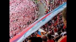 Россия - Польша. Гимн России. Гимн Польши