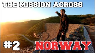 I attempted to cross NORWAY in a completely straight line. (PART 2)