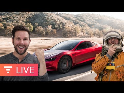 Rocket Powered Tesla? Confirmed! But how? [live]
