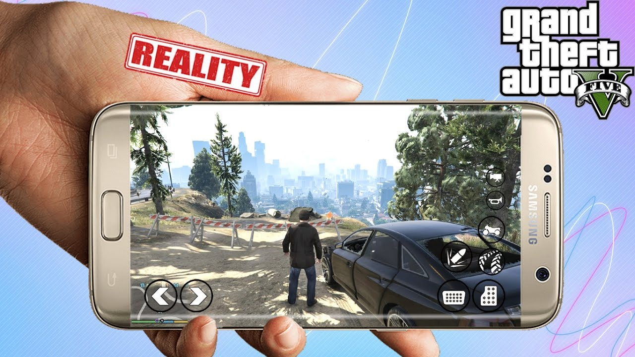 GTA-5 on Android  Can I Run Gta 5 on Android  Truth Revealed (HINDI)