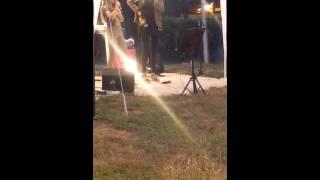 Satine Walle Showcase au camping Le Repaire à Thiviers .