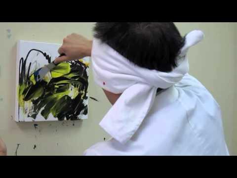 #14  Cutting Edge -  Blindfold Art Medicine