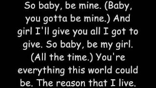 Michael Jackson-Baby Be Mine W/ Lyrics