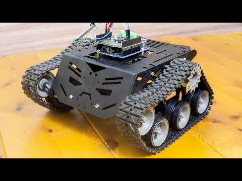 Платформа для мобильных роботов \\ Devastator Tank Mobile Robot Platform