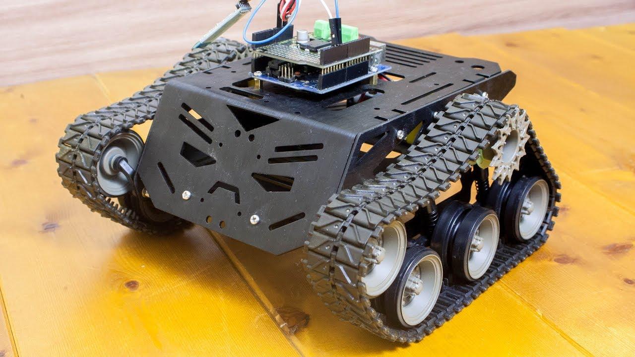 Devastator Tank Mobile Robot Platform - DFRobot