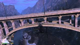 GTA V Spaceship Part 44 [Ranton Cannon Bridge Cassidy Creek Bridge]