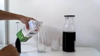 Membuat ice coldbrew cappuccino di rumah