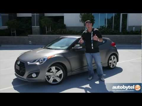 2013 Hyundai Veloster Turbo Car Video Review