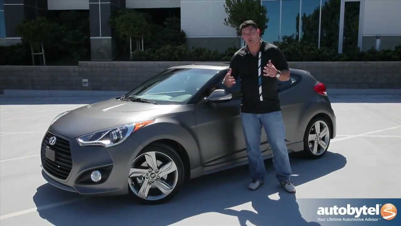 2013 Hyundai Veloster Turbo Car Video Review Youtube