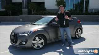 2013 Hyundai Veloster Turbo Car Video Review(http://www.autobytel.com/hyundai/veloster/2013/?id=32972 When the Hyundai Veloster was released in 2011 many enthusiasts were excited to see a fantastic ..., 2012-06-25T11:36:24.000Z)