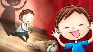 - Маленький мальчик в ТЕМНОМ ЗАМКЕ где ОЧЕНЬ СТРАШНО 3 Спасли собаку Видео для детей KIDS CHILDREN