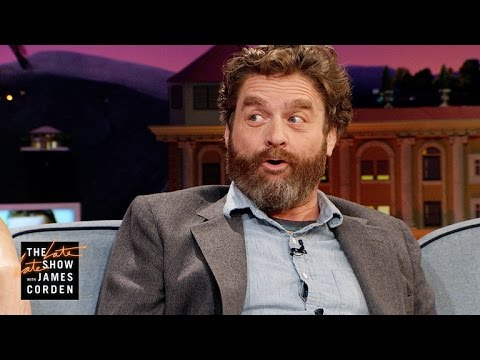 Zach Galifianakis Can't Be Taken Seriously