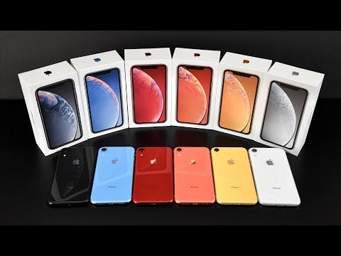 Apple iPhone XR: Unboxing & Review (All Colors!)