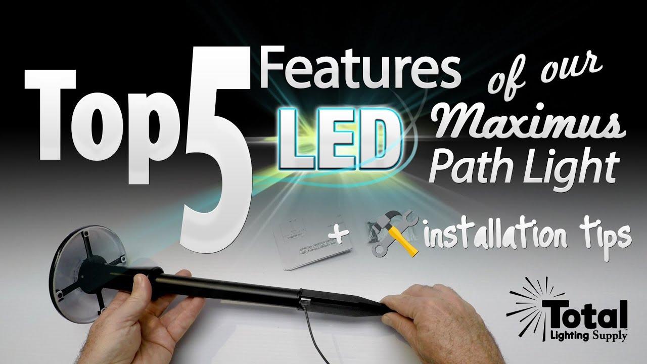total led malibu lighting