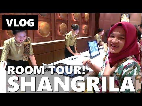STAYCATION ROOM TOUR! SHANGRILA HOTEL JAKARTA | Vlog Keluarga | Vlog Indonesia