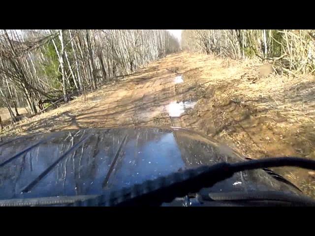 Дорога от Ольговки до Стрян