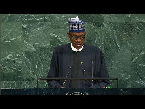 Nigeria - President Addresses United Nations General Assembly