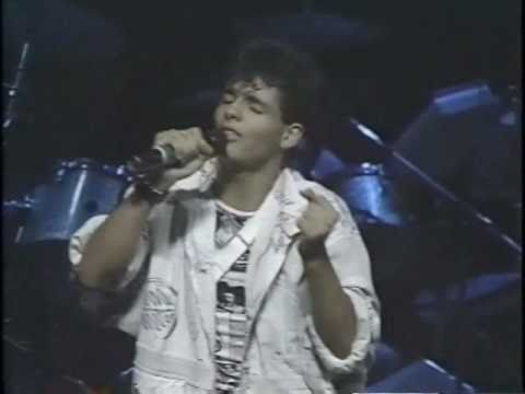 MENUDO - Please be Good to Me - Robi Rosa LIVE