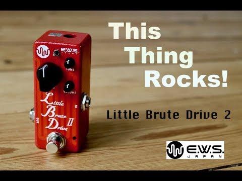 EWS Little Brute Drive 2 - This thing rocks! - Demo by Simon Gotthelf
