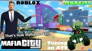 Roblox MadCity Gameplay [Tuning an ATV]