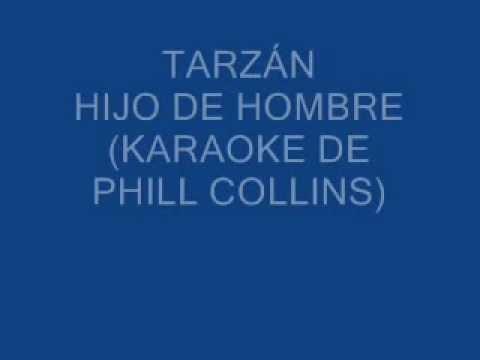karaoke Tarzán Hijo de Hombre