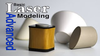 Laser Model Making Advąnced Basics Tutorial Guide: modeling tips & tricks for Designers Architects