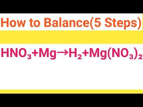HNO3+Mg=Mg(NO3)2+H2  Balanced Equation  Nitric Acid+Magnesium=Magnesium Nitrate+Hydrogen Balanced Eq